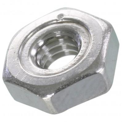 100 Sechskant-Schweißmuttern DIN 929 A4 M4