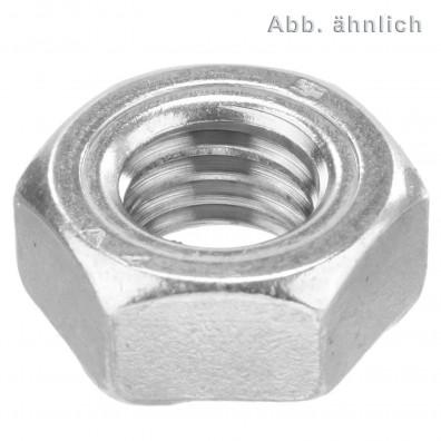 Sechskant-Schweissmuttern DIN 929 A4