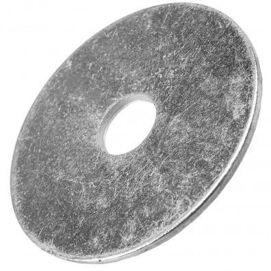200 Stück Kotflügelscheiben galv.verzinkt für M12, 12,5 x 40 mm, Dicke 1,5 mm