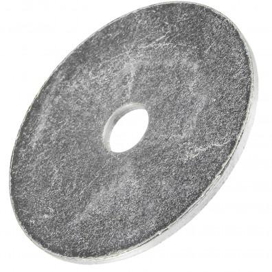 200 Stück Kotflügelscheiben galv.verzinkt für M6, 6,4 x 35 mm, Dicke 1,5 mm