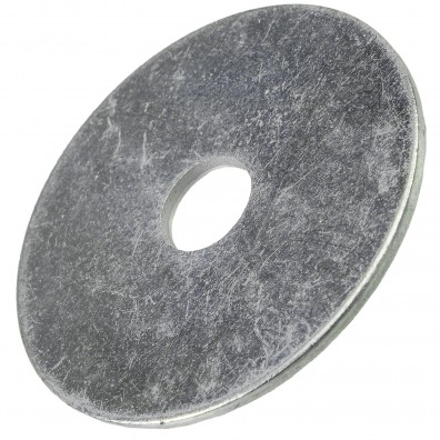 200 Stück Kotflügelscheiben galv.verzinkt für M8, 8,4 x 40 mm, Dicke 1,5 mm