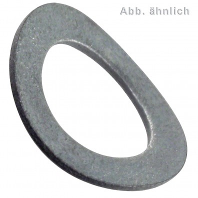 Federscheiben DIN 137 - Form A (gewölbt) - mechanisch verzinkt