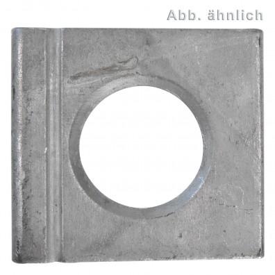 Vierkantscheiben - DIN 6917 - feuerverzinkt