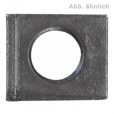 Vierkantscheiben - DIN 6917 - Stahl vergütet