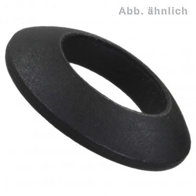 1 Kugelscheiben 37 mm Durchmesser - DIN 6319 - Form C - blank