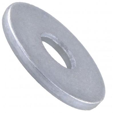 25 Unterlegscheiben DIN 440 Form R - für M33 - Aussen-Ø=115mm - verzinkt