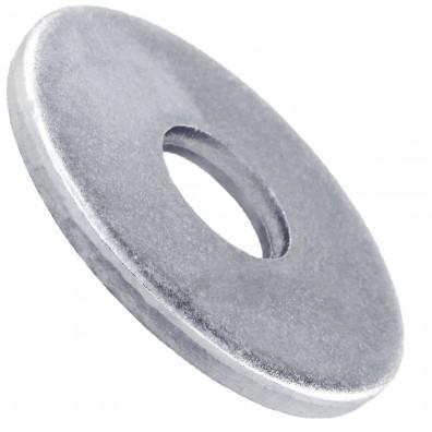 100 Unterlegscheiben DIN 440 Form R - für M12 - Aussen-Ø=44mm - verzinkt