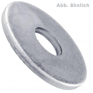 25 Unterlegscheiben DIN 440 Form R - für M30 - Aussen-Ø=105mm - verzinkt