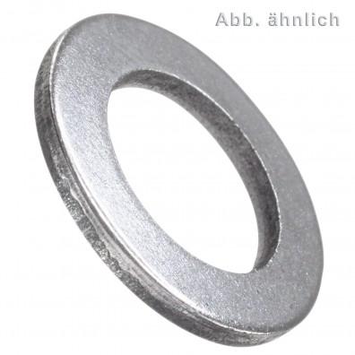 Unterlegscheiben - DIN 433-1 - Stahlgüte 140 HV - blank