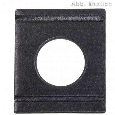 Vierkantscheiben - DIN 434 - blank