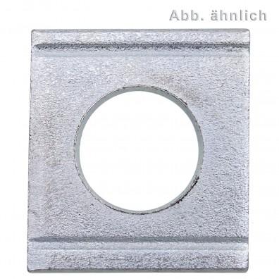 Vierkantscheiben - DIN 434 - galvanisch verzinkt