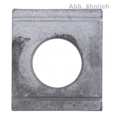 Vierkantscheiben - DIN 434 - feuerverzinkt