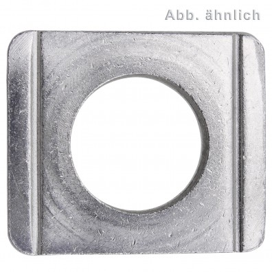 Vierkantscheiben - DIN 434 - Edelstahl A2