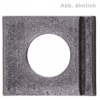 Vierkantscheiben - DIN 435 - blank