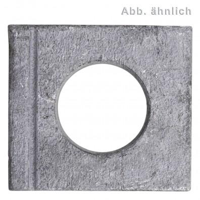 Vierkantscheiben - DIN 435 - feuerverzinkt
