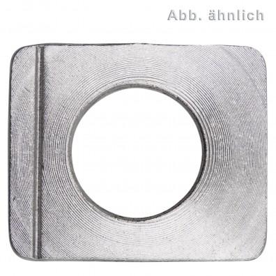 Vierkantscheiben - DIN 435 - Edelstahl A2