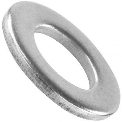 100 Unterlegscheiben DIN 125 Form A - für M8 - Aussen-Ø=16mm - Edelstahl A2
