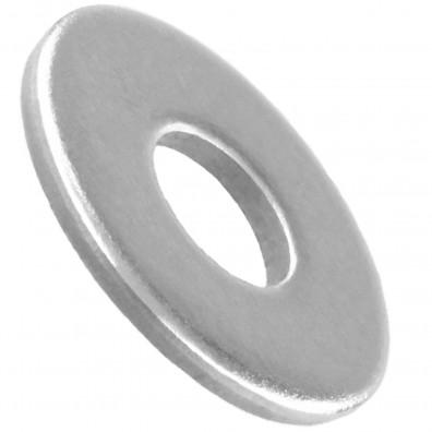 1000 Unterlegscheiben DIN 9021 für M4- Aussen-Ø = 12 mm - Edelstahl A2