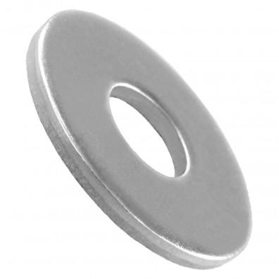 50 Unterlegscheiben DIN 9021 für M8- Aussen-Ø = 24 mm - Edelstahl A2