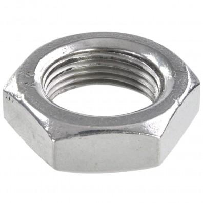 25 Sechskantmuttern - M22 - Feingewinde 1,5mm - niedrig, Form B - A2 - DIN 439