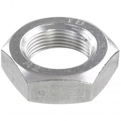 10 Sechskantmuttern - M33 - Feingewinde 2mm - niedrig, Form B - A2 - DIN 439