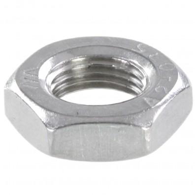 200 Sechskantmuttern - M8 - Feingewinde 0,75mm - niedrig, Form B - A2 - DIN 439