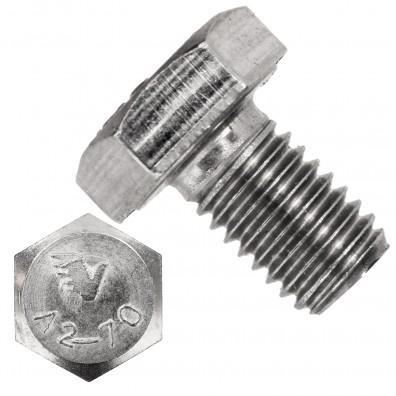 100 Sechskantschrauben M10 x 16 mm - Edelstahl A2 - SW 17 - DIN 933