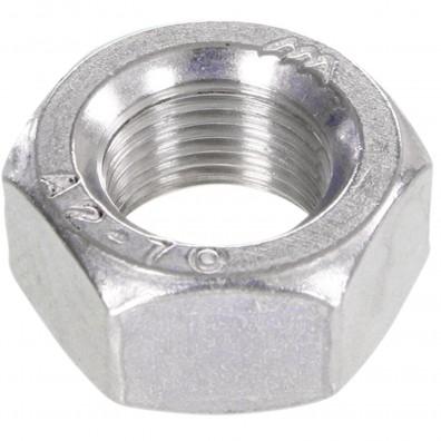 100 Sechskantmuttern Mf10 - SW17 - Feingewinde 1mm - Edelstahl A2 - DIN 934