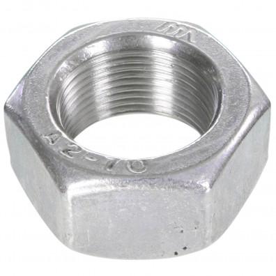 25 Sechskantmuttern Mf22 - SW32 - Feingewinde 1,5mm - Edelstahl A2 - DIN 934