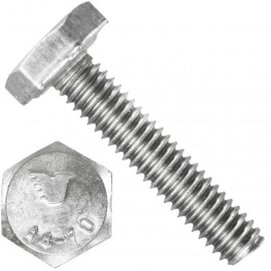 1000 Sechskantschrauben M2,5 x 12 mm - Edelstahl A4 - 70 - DIN 933