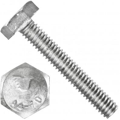 1000 Sechskantschrauben M2,5 x 16 mm - Edelstahl A4 - 70 - DIN 933