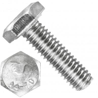 1000 Sechskantschrauben M3 x 8 mm - SW 5,5 - Edelstahl A4 - 70 - DIN 933
