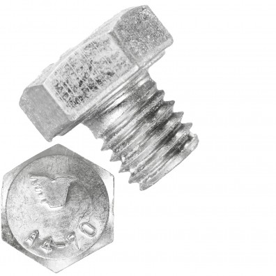 100 Sechskantschrauben M8 x 8 mm - SW 13 - Edelstahl A4 - 70 - DIN 933
