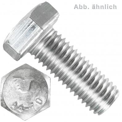 5 Sechskantschrauben  M 33X160 mm - SW 50 - Edelstahl A4 - 70 - DIN 933