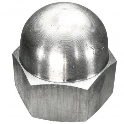 10 Hutmuttern DIN 1587 - M30 - Edelstahl A2