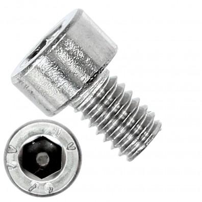 1000 Zylinderschrauben M4 x 6mm - Innensechskant - Edelstahl A2 - DIN 912