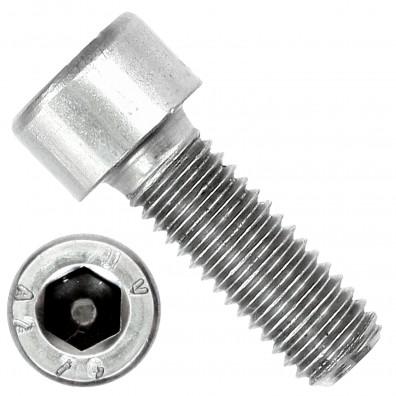 200 Zylinderschrauben M8 x 22mm - Innensechskant - Edelstahl A2 - DIN 912