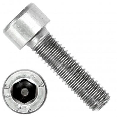100 Zylinderschrauben M8 x 30mm - Innensechskant - Edelstahl A2 - DIN 912