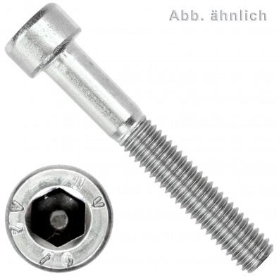 100 Zylinderschrauben M8 x 70mm - Innensechskant - Edelstahl A2 - DIN 912