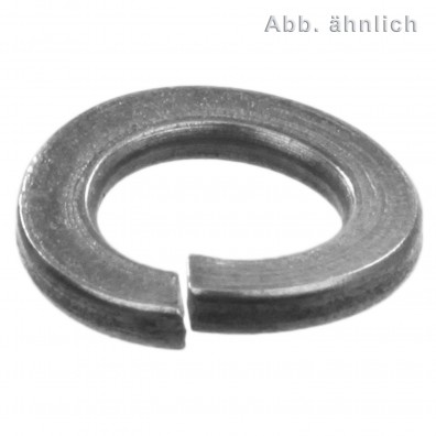 1000 Federringe DIN 128 - Edelstahl A1, Form A (gewölbt) M 4