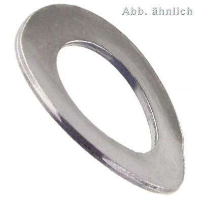 Federscheiben DIN 137 - Form A (gewölbt) - Edelstahl A1