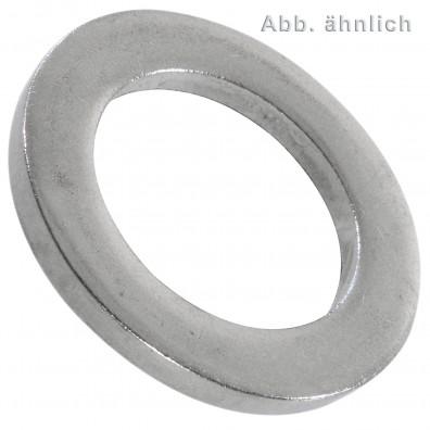 50 Scheiben für Bolzen, DIN 1440 - A2, Ausführung mittel  25mm