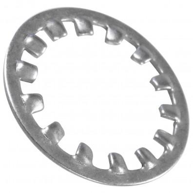200 Zahnscheiben DIN 6797 in A2 Form I für M24