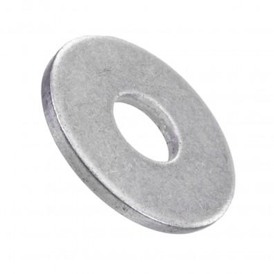 100 Unterlegscheiben DIN 440 Form R - für M10 - Aussen-Ø= 34mm - Edelstahl A2