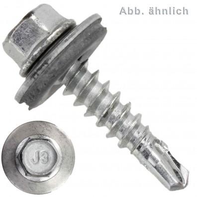 500 BI- Metall Bohrschrauben, Bohrleistung 2,0-4,0 - 5,5x25