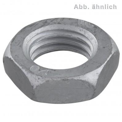 Sechskantmuttern - DIN 439 - zinklamellenbeschichtet - Form B