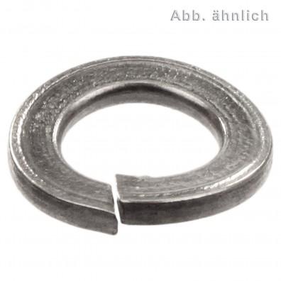 1000 Federringe DIN 128 - A4, Form A (gewölbt) M10