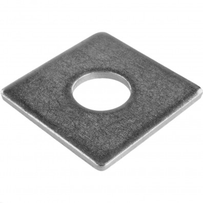 50 Vierkant-Scheiben DIN 436 Edelstahl A2 M22