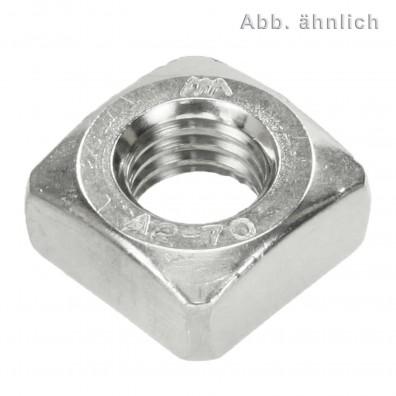 200 Vierkantmuttern DIN 557 Edelstahl A2 M8