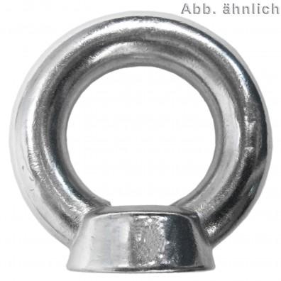 Ringmuttern DIN 582 Edelstahl A4